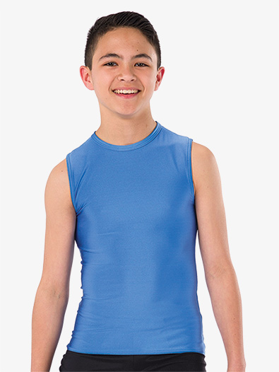 Boys Spandex Performance Tank Top - Style No AW11630C