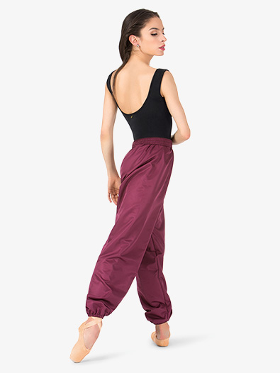Womens Microtech Warm-up Dance Pants - Style No AW122