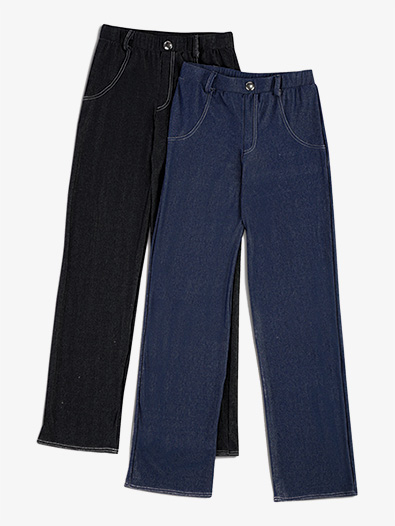 Boys Performance Stretch Denim Pants - Style No AW13182C