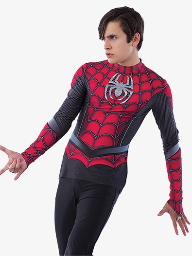 Boys Spider Man Top - Style No AW21695C