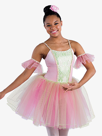 Girls Seasons Midlength Tutu - Style No AW21780C