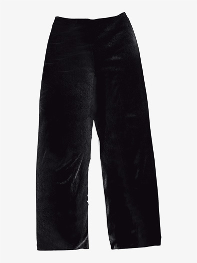 Mens Performance Velvet Boot Cut Pants - Style No AW848