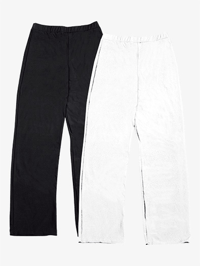 Boys Performance Spandex Boot Cut Pants - Style No AW849C