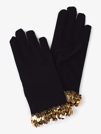 Womens Black Performance Gloves - Style No AWG51