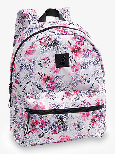 My Cheetah Floral Backpack - Style No B20513