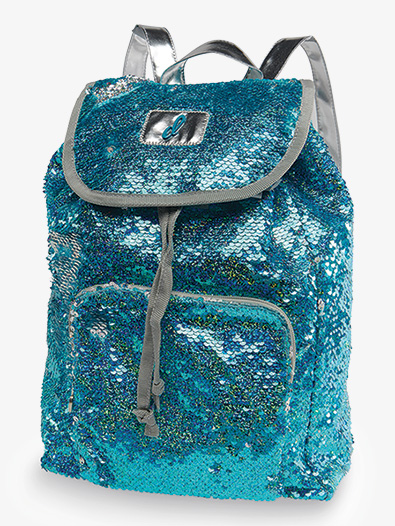 Mermaid Color Sequin Backpack - Style No B20524