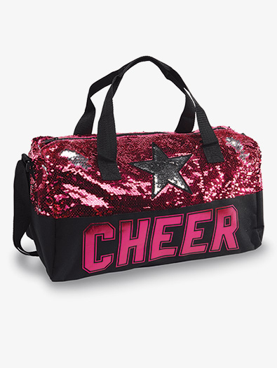 Sequin Cheer Star Duffel - Style No B20526