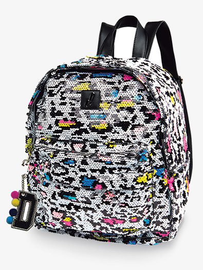 Techno Neon Cheetah Backpack - Style No B20537