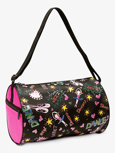 Little Dancers Doodle Dance Bag - Style No B443
