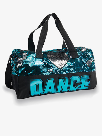 Sequin Dance Heart Duffle - Style No B842TRQ