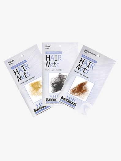 Hair Nets 3 Pack (9 Nets) - Style No BH420K