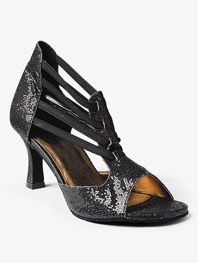 Womens ''Rafa'' 2.5'' Sequin Ballroom Shoes - Style No BL176