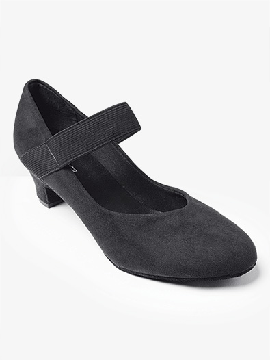 Womens '' Raeni'' 1.5'' Suede Ballroom Shoes - Style No BL184