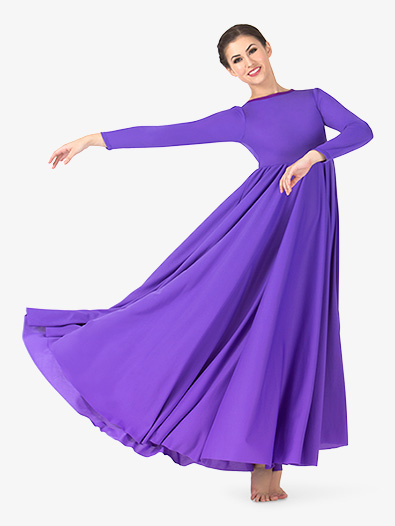 Womens Circle Worship Dress - Style No BT5190x