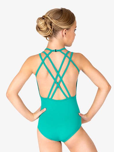 Womens Multi-Strap Back Tank Leotard - Style No BT5237