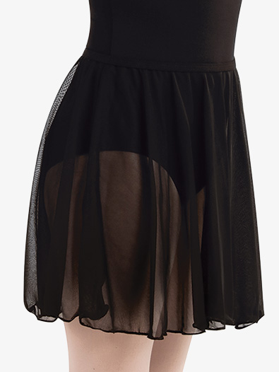 Girls Chiffon Pull-on Dance Skirt - Style No BW198