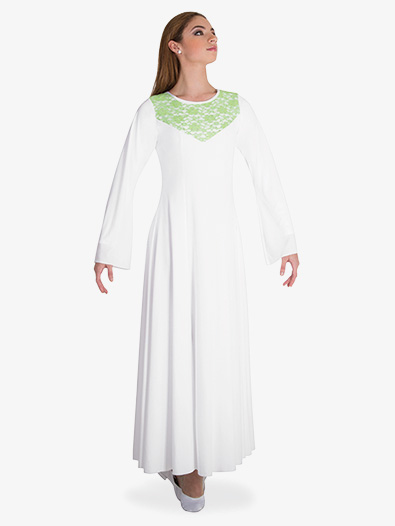 Womens Bell Sleeve Worship Dress - Style No BW625