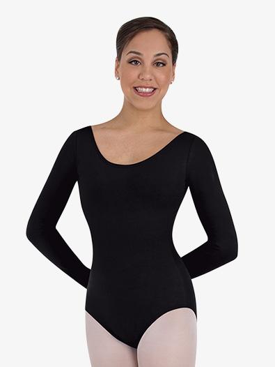 Womens Long Sleeve Ballet Cut Leotard - Style No BWC326