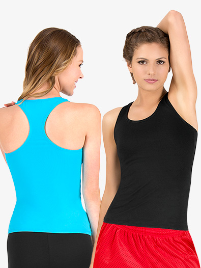 Adult Basic Racerback Tank Top - Style No BWP214