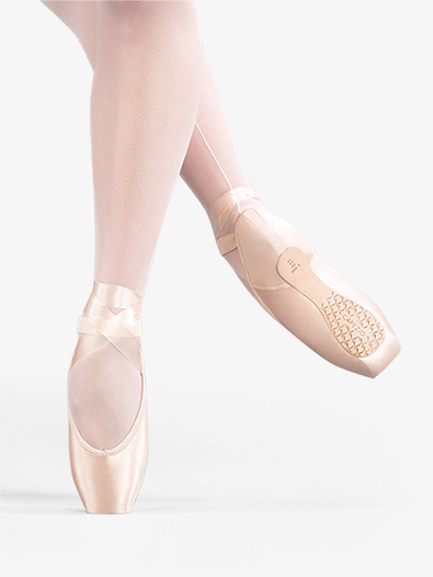Airess Tapered Toe Pointe Shoe #6.5 Shank - Style No C1134x