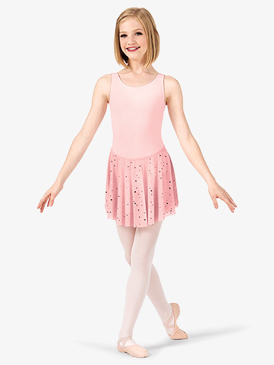Girls Star Mesh Pull-On Skirt - Style No C28483