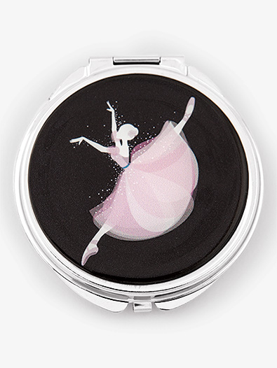 Jumping Ballerina Compact Mirror - Style No CCM14JB