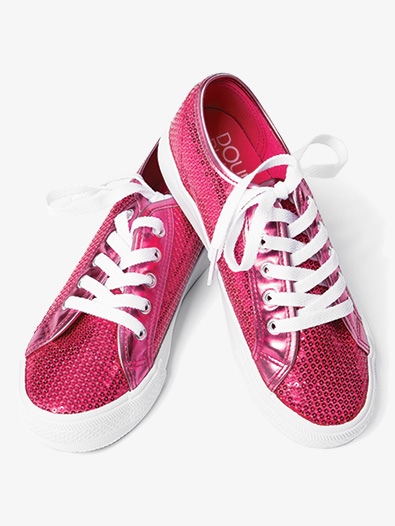 Girls Sequin Sneaker - Style No CHUXC