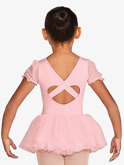 Frill Sleeve Tutu Leotard - Style No CL5542