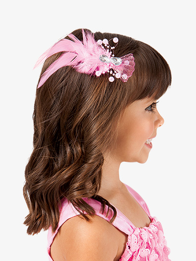 Mesh Bow Clip - Style No D2367