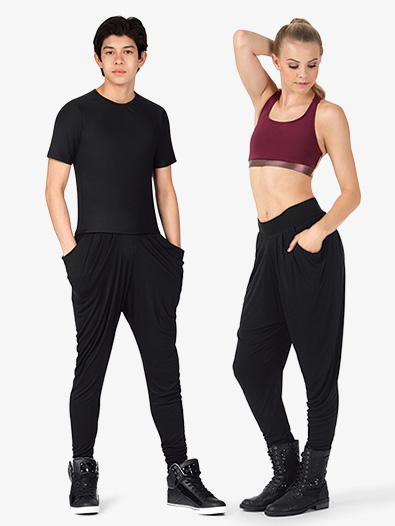 Adult Unisex Stretch Harem Hip-Hop Pants - Style No D3019