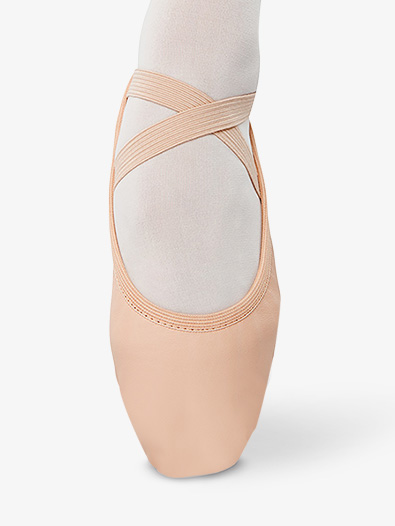 Womens Leather Split Sole Ballet Shoes - Style No D398x