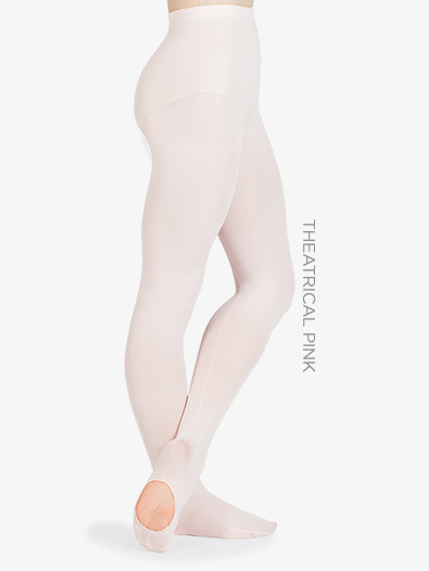 Adult Faux Backseam Convertible Tights - Style No D725