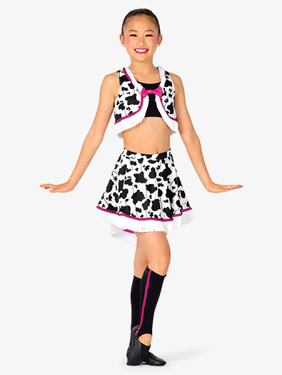 Girls Performance Cowgirl Costume Set - Style No EL456C