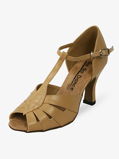 Ladies Latin/Rhythm Ballroom Shoes - Style No GO955