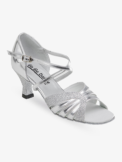 Ladies Latin/Rhythm Ballroom Shoe w/2.5 Inch Heels - Style No GO979