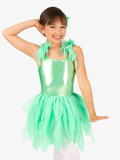 Girls Flutter Sleeve Fairy Character Costume Tutu Dress - Style No GRA137C