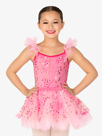 Girls Performance Camisole Ballet Dress - Style No GRA165C