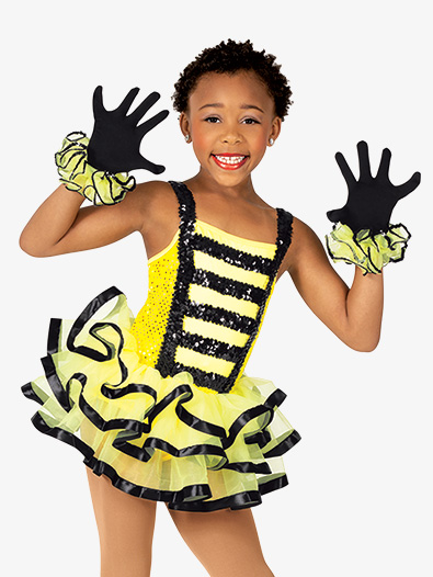 Girls Performance Bee Ballet Tutu Dress - Style No GRA177C