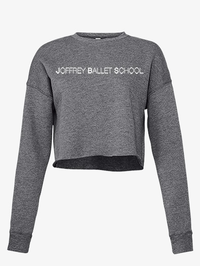 Womens Cropped Fleece Dance Sweater - Style No JB103