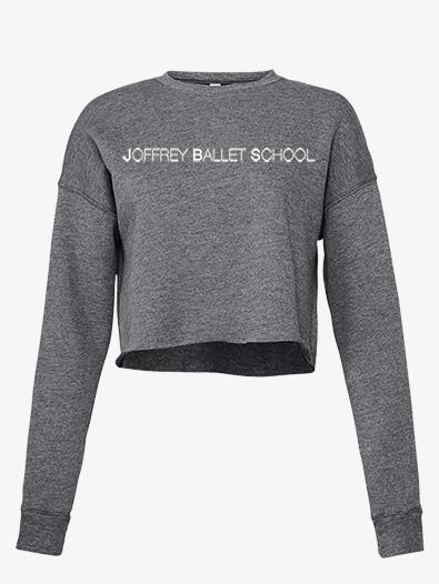 Womens Cropped Fleece Dance Sweater - Style No JB103x