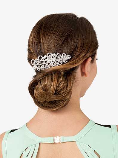 Rhinestone Cloud Hair Comb - Style No JHC