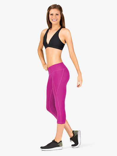 Womens Cropped Yoga Pants - Style No K3928x