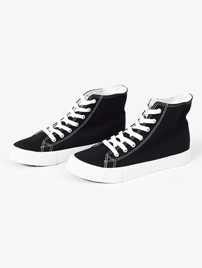 Womens Hi-Top Canvas Dance Sneaker - Style No KIX