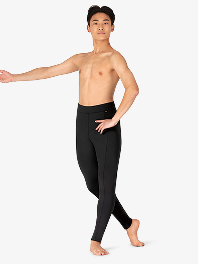Boys Seamed Dance Leggings - Style No ME597C