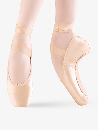 Adult Whisper Satin Pointe Shoes - Style No MS140