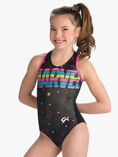Girls Marvel Stars & Stripes Leotard - Style No MV022C