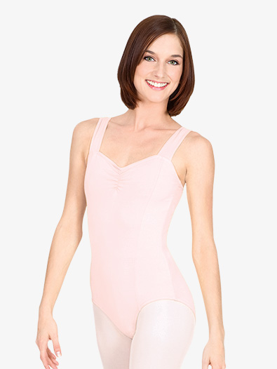 Adult Pinch Front Tank Cotton Dance Leotard - Style No N5501