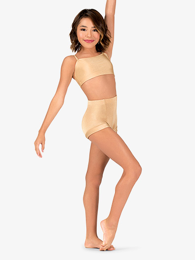 Child Emballe High Waist Dance Shorts - Style No N7143Cx