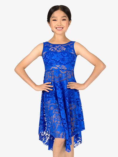 Child Emballe Lace Overdress - Style No N7260Cx