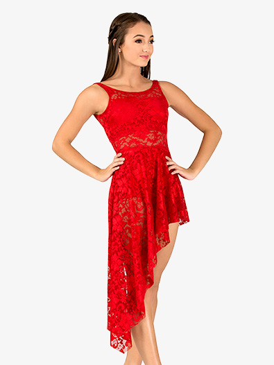 Adult Emballe Long Lace Overdress - Style No N7261x